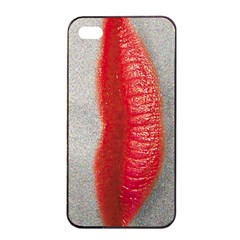 Lips Apple iPhone 4/4s Seamless Case (Black)
