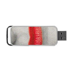 Lips Portable USB Flash (One Side)