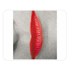 Lips Double Sided Flano Blanket (Large)
