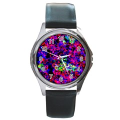 Electic Parasite Round Metal Watches