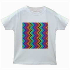 Aztec 3 Kids White T-Shirts