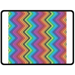 Aztec 3 Fleece Blanket (large)