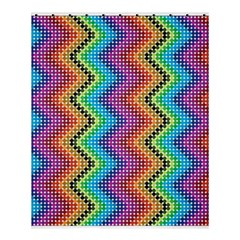 Aztec 3 Shower Curtain 60  x 72  (Medium)