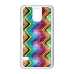 Aztec 3 Samsung Galaxy S5 Case (White)