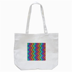 Aztec 3 Tote Bag (White)