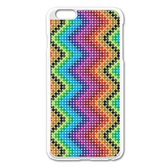 Aztec 3 Apple iPhone 6 Plus Enamel White Case