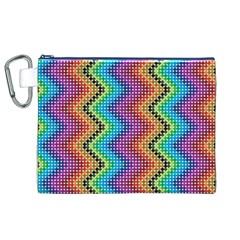 Aztec 3 Canvas Cosmetic Bag (XL)