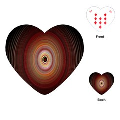 Colour Twirl Playing Cards (Heart)