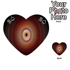 Colour Twirl Playing Cards 54 (heart)