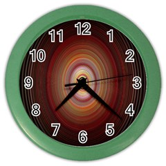 Colour Twirl Color Wall Clocks