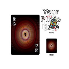 Colour Twirl Playing Cards 54 (mini)