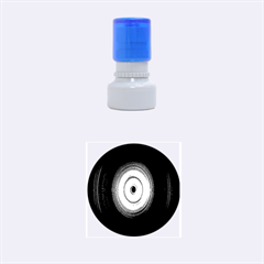 Colour Twirl Rubber Round Stamps (Small)