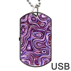 Colourtile Dog Tag Usb Flash (two Sides)