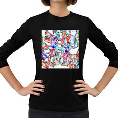 Soul Colour Light Women s Long Sleeve Dark T Shirts