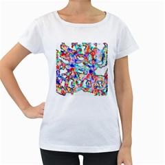 Soul Colour Light Women s Loose Fit T Shirt (white)