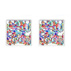 Soul Colour Light Cufflinks (square)