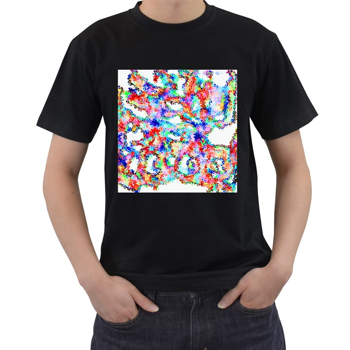 Soul Colour Light Men s T-Shirt (Black)