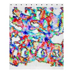 Soul Colour Light Shower Curtain 60  x 72  (Medium)