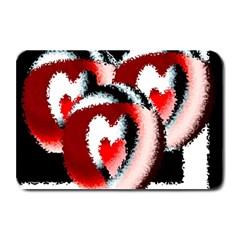 Heart Time 3 Plate Mats