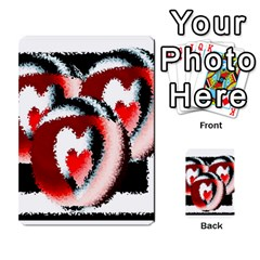 Heart Time 3 Multi Purpose Cards (rectangle)