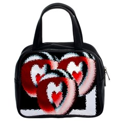 Heart Time 3 Classic Handbags (2 Sides)