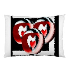 Heart Time 3 Pillow Cases