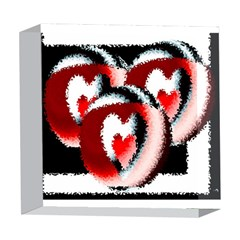Heart Time 3 5  x 5  Acrylic Photo Blocks
