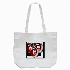 Heart Time 3 Tote Bag (White)