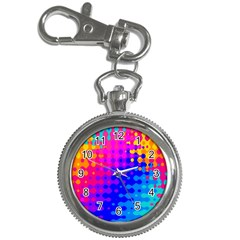 Totally Trippy Hippy Rainbow Key Chain Watches