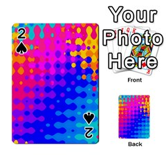 Totally Trippy Hippy Rainbow Playing Cards 54 Designs