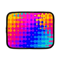 Totally Trippy Hippy Rainbow Netbook Case (small)