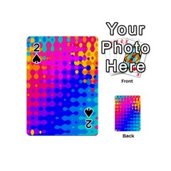 Totally Trippy Hippy Rainbow Playing Cards 54 (Mini)