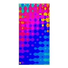 Totally Trippy Hippy Rainbow Shower Curtain 36  X 72  (stall)