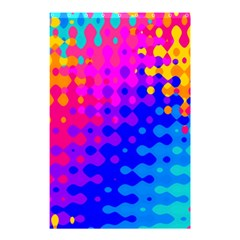 Totally Trippy Hippy Rainbow Shower Curtain 48  x 72  (Small)