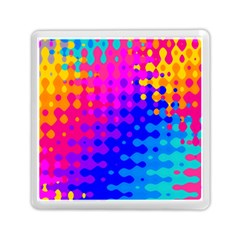 Totally Trippy Hippy Rainbow Memory Card Reader (Square)