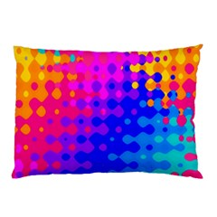 Totally Trippy Hippy Rainbow Pillow Cases (two Sides)