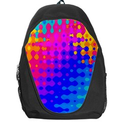 Totally Trippy Hippy Rainbow Backpack Bag