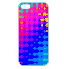 Totally Trippy Hippy Rainbow Apple Seamless Iphone 5 Case (color)