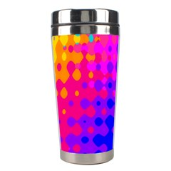Totally Trippy Hippy Rainbow Stainless Steel Travel Tumblers