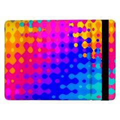 Totally Trippy Hippy Rainbow Samsung Galaxy Tab Pro 12 2  Flip Case