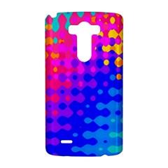 Totally Trippy Hippy Rainbow LG G3 Hardshell Case