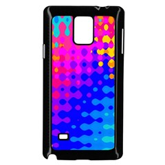 Totally Trippy Hippy Rainbow Samsung Galaxy Note 4 Case (Black)