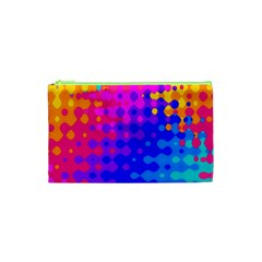 Totally Trippy Hippy Rainbow Cosmetic Bag (xs)