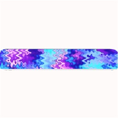 Blue And Purple Marble Waves Small Bar Mats