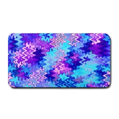 Blue and Purple Marble Waves Medium Bar Mats