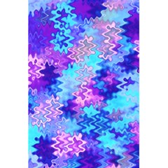 Blue and Purple Marble Waves 5.5  x 8.5  Notebooks