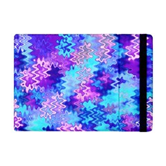 Blue And Purple Marble Waves Apple Ipad Mini Flip Case