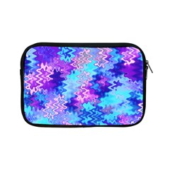 Blue and Purple Marble Waves Apple iPad Mini Zipper Cases
