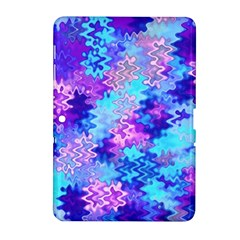 Blue and Purple Marble Waves Samsung Galaxy Tab 2 (10.1 ) P5100 Hardshell Case