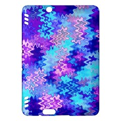 Blue And Purple Marble Waves Kindle Fire Hdx Hardshell Case